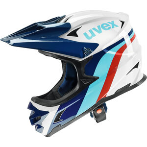 UVEX hlmt 10 Bike Helmet white-blue white-blue