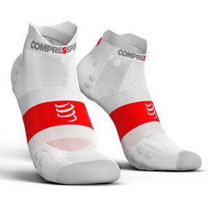 Compressport Pro Racing V3.0 UItralight Run Low Socks white white
