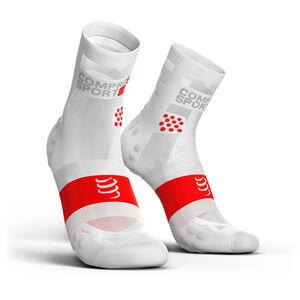 Compressport Pro Racing V3.0 Ultralight Run High Socks white white