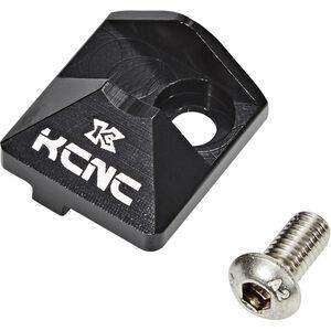 KCNC Umwerfersockel Abdeckung inkl. Flaschenöffner schwarz
