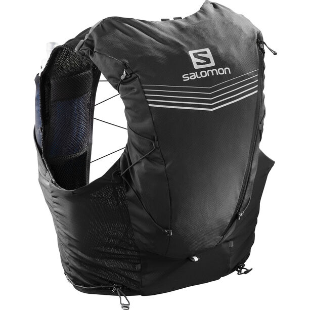 Salomon Adv Skin 12 Backpack Set black black