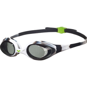 arena Spider Goggles Kinder black-white-clear black-white-clear