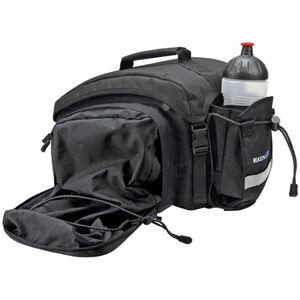 KlickFix Rackpack 1 Plus Gepäckträgertasche für Racktime schwarz schwarz