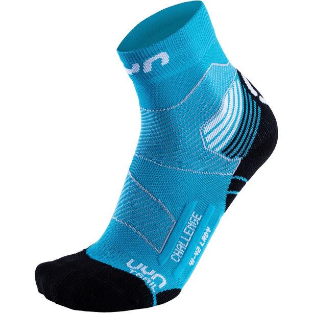 UYN Run Trail Challenge Socks Damen turquoise/white