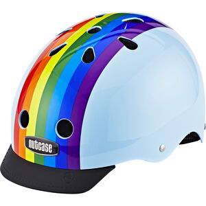 Nutcase Street Helmet Rainbow Sky bei fahrrad.de Online
