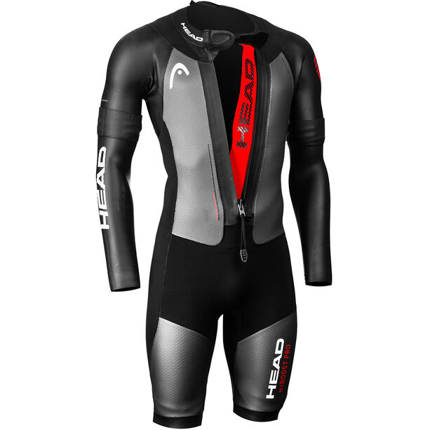 Head Swimrun MyBoost Pro Wetsuit Herren black-silver