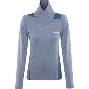 GORE WEAR R3 Thermo Longsleeve Shirt Damen deep water blue deep water blue