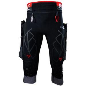 KiWAMi Equilibrium Trail 3/4 Pants black/red black/red
