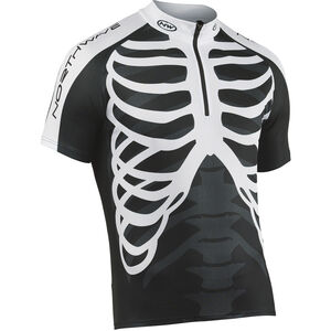 Northwave Skeleton Jersey SS Herren black-white