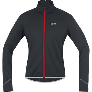 GORE WEAR C5 Windstopper Thermo Jacket Herren black/red black/red