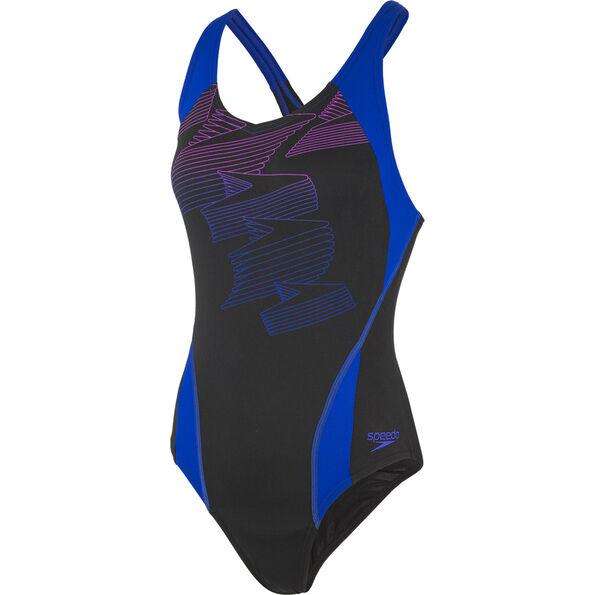 speedo Boom Placement Racerback Swimsuit Women