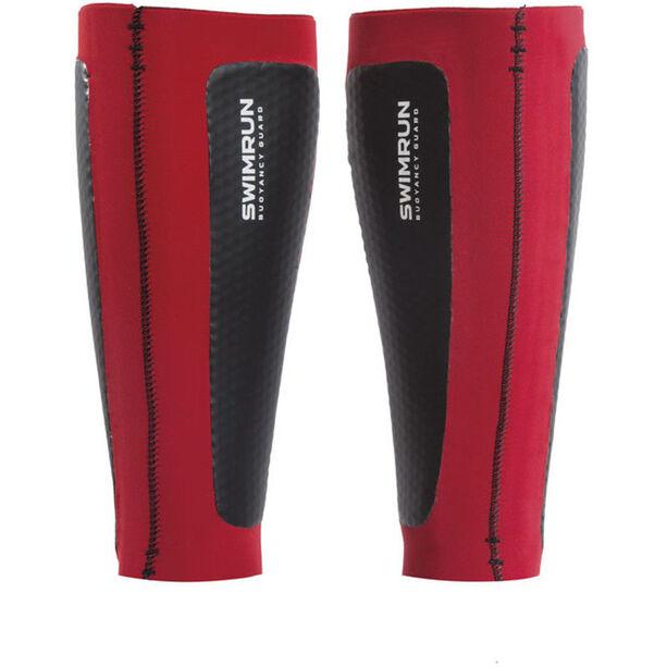 Head Swimrun Air Cell Calf Sleeves black/red