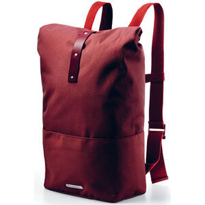 Brooks Hackney Backpack 24-30l red fleck/maroon bei fahrrad.de Online