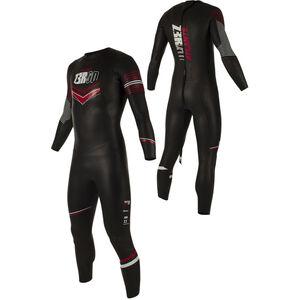 Z3R0D Atlante Wetsuit Herren black/red black/red