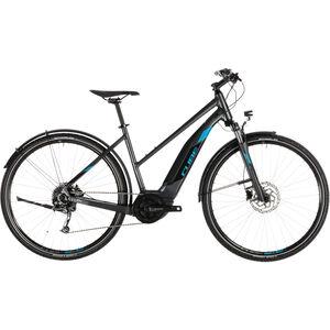 Cube Cross Hybrid ONE 400 Allroad Trapez Iridium'n'Blue bei fahrrad.de Online
