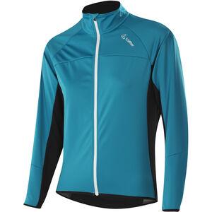 Löffler Alpha WS Light Fahrrad Jacke Damen topaz blue topaz blue