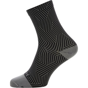 GORE WEAR C3 Optiline Mid Socks graphite grey/black