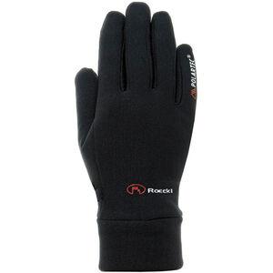 Roeckl Pino Handschuhe Polartec Kinder schwarz schwarz