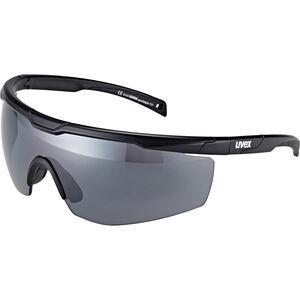UVEX Sportstyle 117 Sportglasses black mat/silver black mat/silver