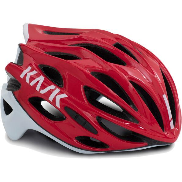 Kask Mojito X Helm rot/weiß