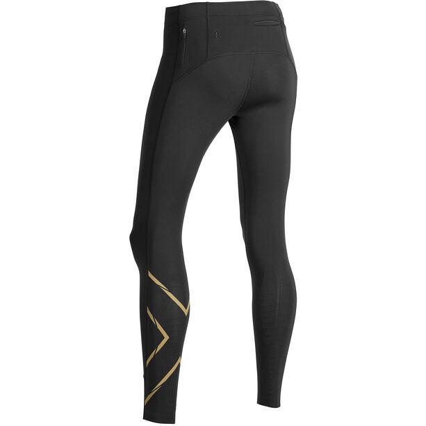 2XU MCS Run Compression Tights Damen black/gold reflective