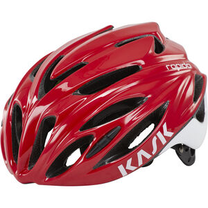 Kask Rapido Helm rot rot