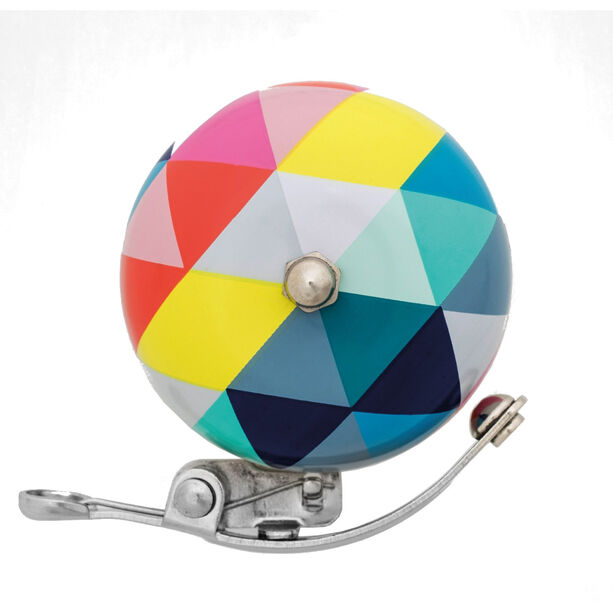 URBAN PROOF Retro Bell 6cm triangles colour