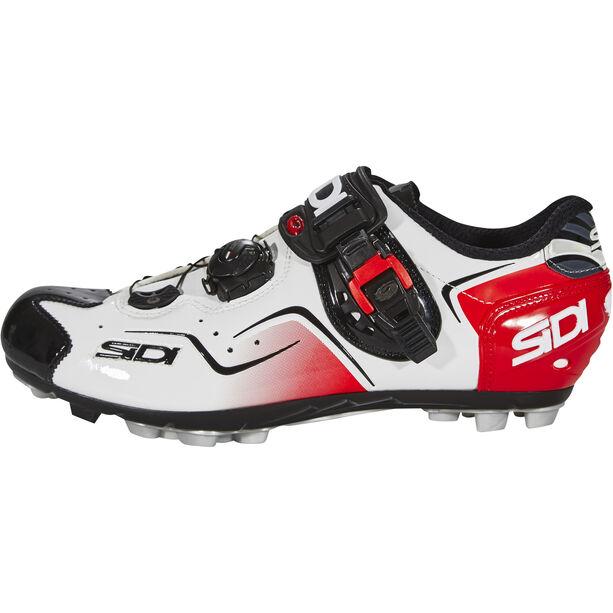 Sidi Cape Shoes Herren white/black/red