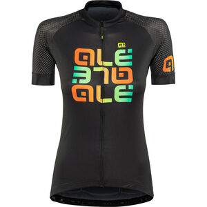 Alé Cycling Solid Mirror SS Jersey Damen black black