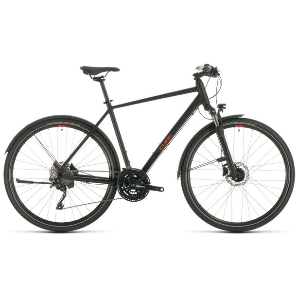 Cube Nature EXC Allroad black/red