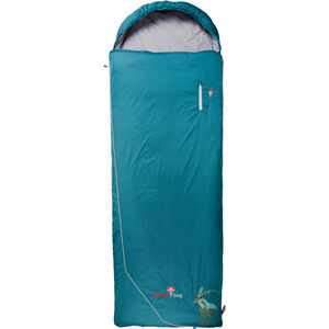 Grüezi-Bag Biopod Wool Goas Comfort Sleeping Bag dark petrol dark petrol