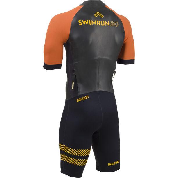 Colting Wetsuits Swimrun Go Wetsuit Herren schwarz/orange