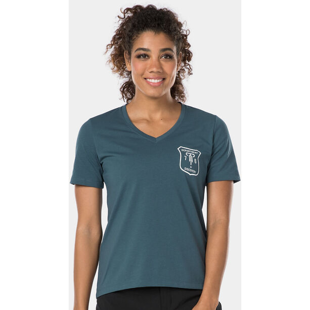 Bontrager Evoke Tech T-Shirt Damen battleship blue