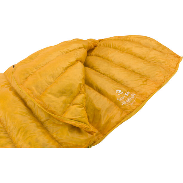 Sea to Summit Spark Sp0 Sleeping Bag regular yellow