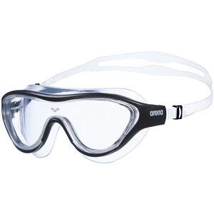 arena The One Maske clear/black/transparent clear/black/transparent