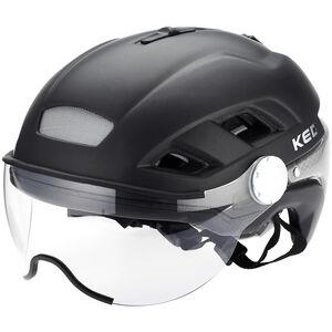 KED B-Vis X-Lite Helmet black matt black matt