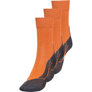 axant 73 Merino Socken 3er Pack Kinder orange orange