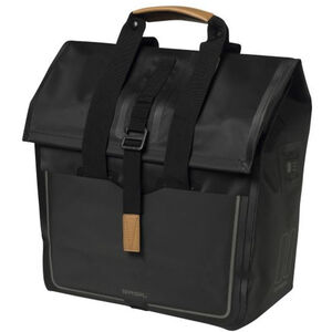Basil Urban Dry Luggage Pannier Shopper 25l matt black matt black