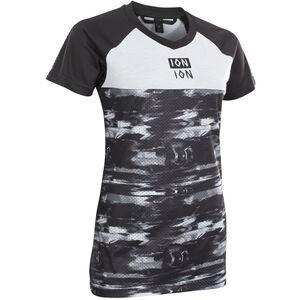 ION Scrub AMP Distortion Kurzarm-Shirt Damen black black