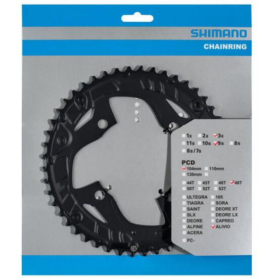 Shimano Alivio FC-T4010 Kettenblatt 9-fach bei fahrrad.de Online
