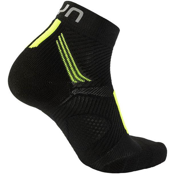 UYN Run Marathon Zero Socks Herren black/yellow fluo