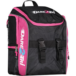 Dare2Tri Transition Backpack 13l black/pink black/pink