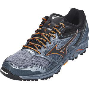 Mizuno Wave Daichi 3 Running Shoes Men folkstone gray/black/flame orange bei fahrrad.de Online