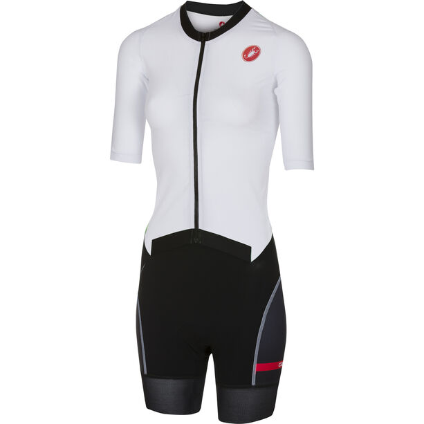 Castelli All Out Speed Suit Damen white/black