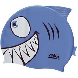 Zoggs Character Silicone Cap Kinder shark shark