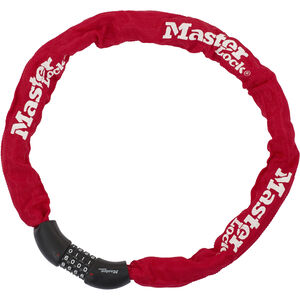 Masterlock 8392 Kettenschloss 8 mm x 900 mm rot rot