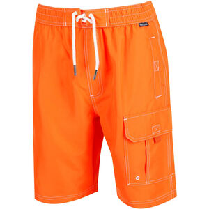 Regatta Hotham Board Shorts Herren blaze orange blaze orange