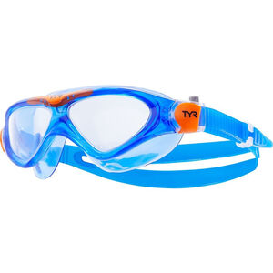 TYR Rogue Schwimmmaske Kinder clear/blue/orange clear/blue/orange