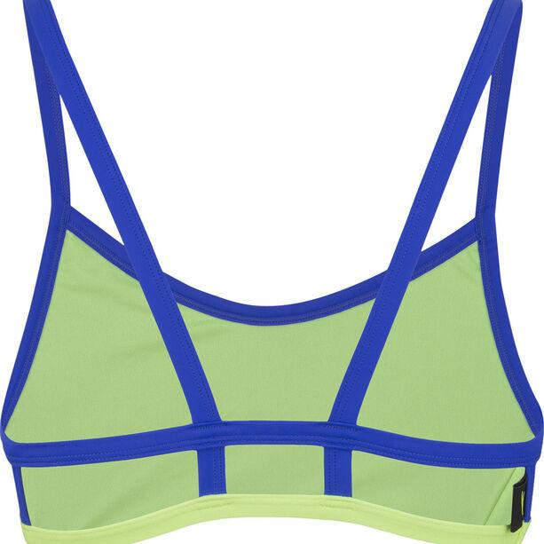 speedo Hydractive Crop Top Damen black/blue