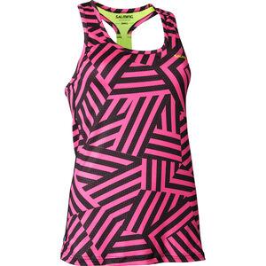 Salming T-Back Tanktop Damen pink/yellow pink/yellow